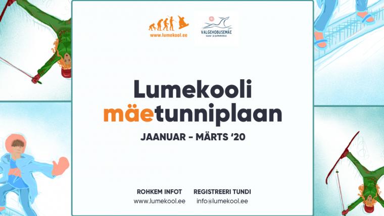 Algas Lumekooli grupitrennidesse registreerimine