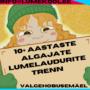 ALGAJATE LUMELAUDURITE TRENN- BUSSIGA RAE VALLAST MÄELE!