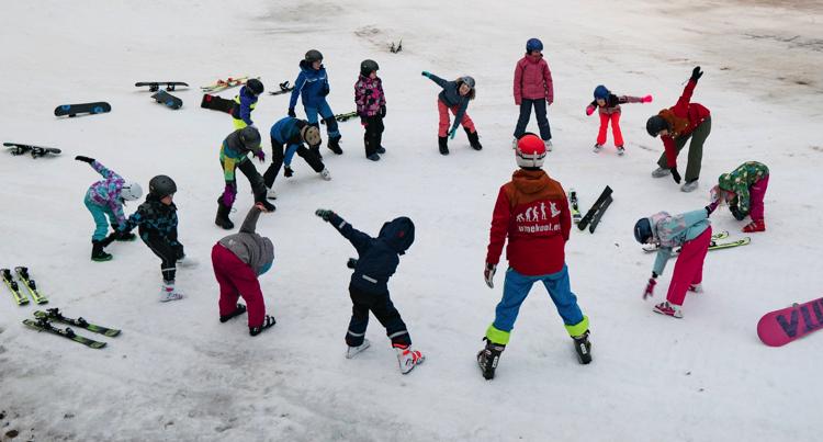 Lumekooli treeningud välistingimustes saavad jätkuda tavalises korras – ettevaatlikkuse ja vastutustundega